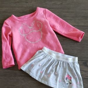 Minnie Mouse 2pc Set 2T